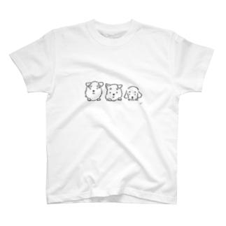まゆわんこLINE T-shirts