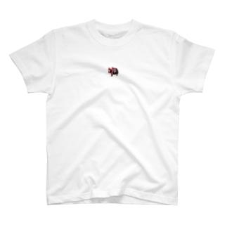 お粧しヒマラヤのヤク T-shirts
