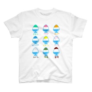 かき氷イラスト T-shirts