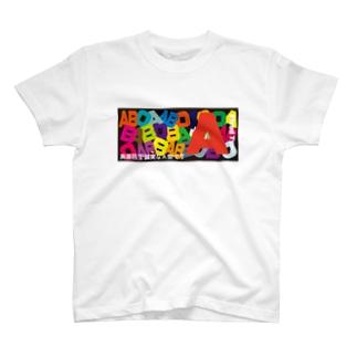 血液型A型 T-shirts