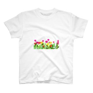 ちゅーりっぷ T-shirts