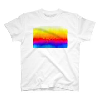 Miyuki_Sakagamiのrainbow sin@色々 T-shirts