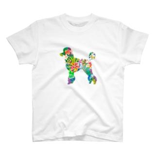 プードルハワイ T-shirts