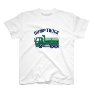ダンプカー Dump Truck T-shirts