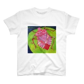恋するカメムシ T-shirts