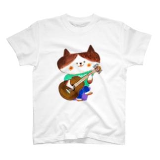 ギターニャンコ T-shirts