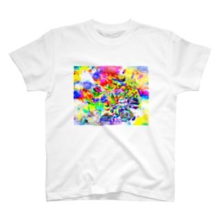 カラフルだねえ T-shirts