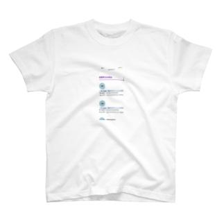 外れました T-shirts