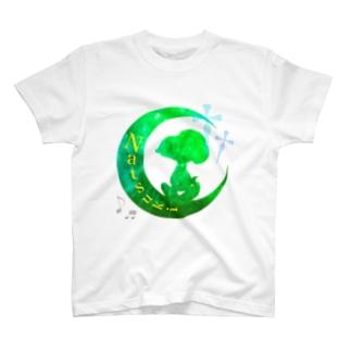 お月様    Ver.らべさん T-shirts