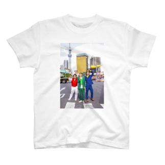 怪奇!浅草海老天 T-shirts