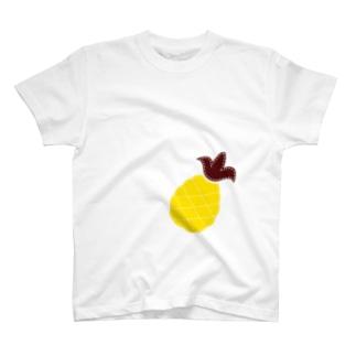 パッチワークーパイナップル T-shirts