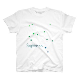 neoacoのSagittarius -12 ecliptical constellations- Tシャツ