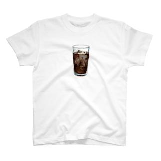 iced coffee(下地なし) T-shirts
