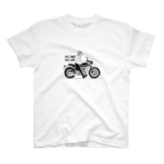 BIKE×女の子 T-Shirt