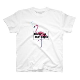 flamingo magazine T-shirts