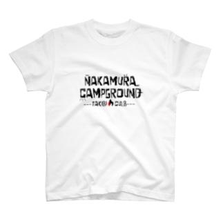 焚火くらぶ会員募集中です T-shirts