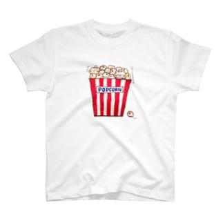 ポップコーン T-shirts