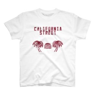 CALIFORNIA STREET T-shirts