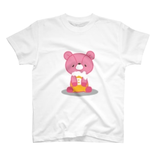 ビールベア(おすわり) T-shirts