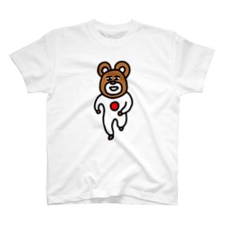 日の丸ベアー Tシャツ