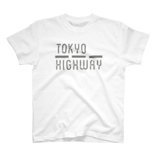 TOKYO HIGHWAY Tshirts Yellow T-shirts