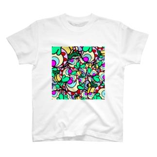 いのせんとぴっぴ(ごちゃごちゃ) T-shirts