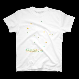 neoacoのGemini -12 ecliptical constellations- Tシャツ