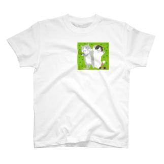 昼寝猫 T-shirts