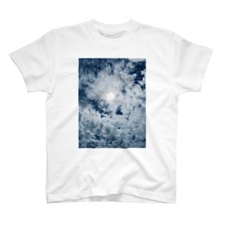 Blue Moon Sky T-shirts