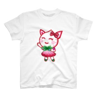 アリィちゃん いちごホワイト T-shirts