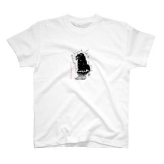 【売り上げ全額寄付①】強者感漂うクマムシ T-shirts