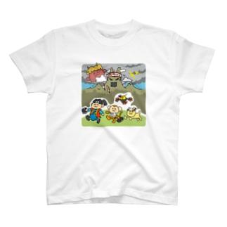 おともします ももたろさん T-shirts