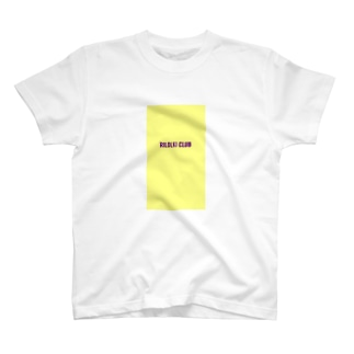 RILOLKI  CLUB YELLOW T-shirts