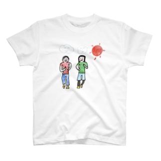 ウォーキング T-shirts