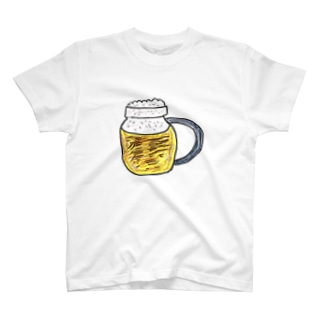 ビールうまそー T-shirts
