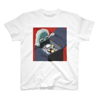 ワンルーム狂想曲(赤) T-shirts