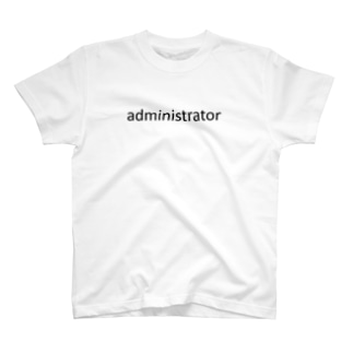 administrator T-shirts