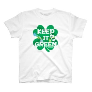 FOXY COLORSのエコ・パンダ ECO PANDA グリーン大作戦 Tシャツ green T-Shirt