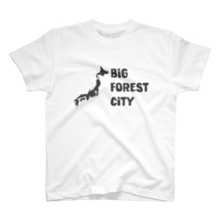 BIG FOREST CITY MAP Tシャツ T-shirts