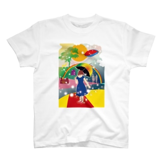 「春と虹」 T-shirts