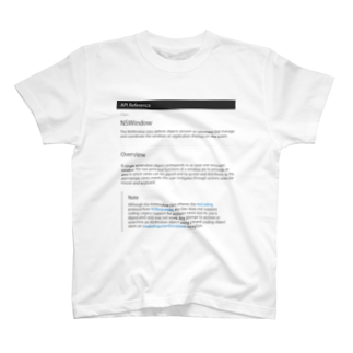 nakajijapanのNSWindow T-shirts