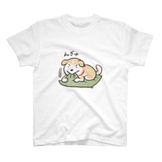 ◆んぎゅするこわんこ T-shirts