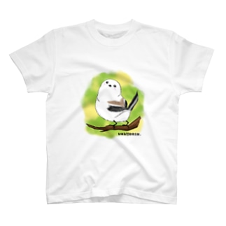 シマエナガのギンちゃん T-shirts