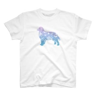 花-sun 2 バーニーズマウンテン T-shirts