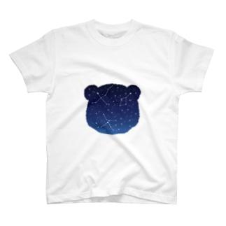 パンダと夏の大三角 T-shirts