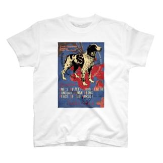 ブリタニースパニエル T-shirts