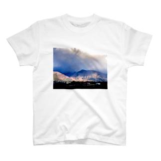 虹が見えるね T-shirts