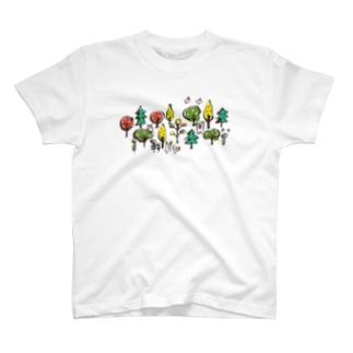 森の動物 T-Shirt