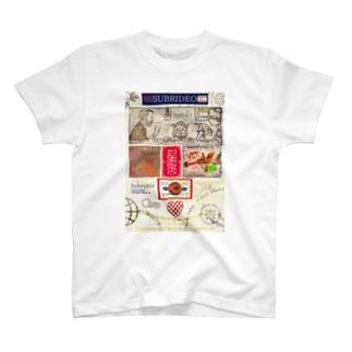 愛娘を囲む両親! T-shirts