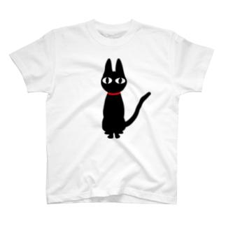 黒猫キャンディー T-shirts
